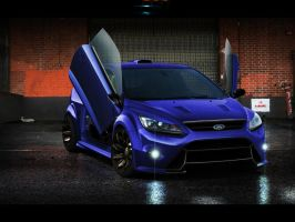 Ford Focus RS Lambo Doors by 7RON7