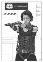 Resident Evil II by TimGrayson