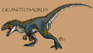 Giganotosaurus by Art-Minion-Andrew0