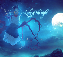 Lady of the night by Ayanashii