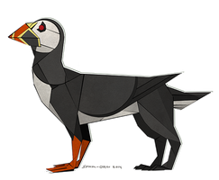 Puffin Griffin by Splash-Otter