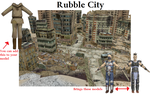 Rubble city 1.0 by mikuxwolf