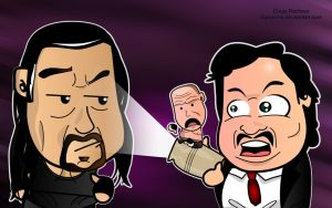 Undertaker and Paul Bearer by kapaeme