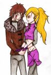 Request: Kiba and Ino by Vivien6277