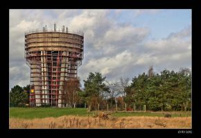 water tower by 21711