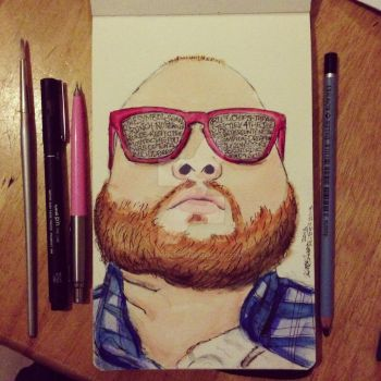 Action Bronson by 12KathyLees12