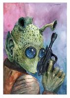 Star Wars Greedo by c-razycheese