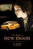 New Moon Poster - Alice Cullen by thaisrods