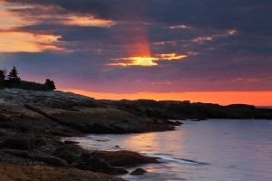 Sunrise Boothbay by EvaMcDermott