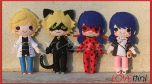 Miraculous, les aventures de Ladybug et Chat Noir by LOVEttini