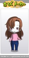 ChibiMaker Microsoft Mary by tigerclaw64