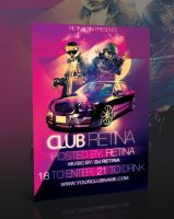 Nightclub Flyer Template -PSD- by retinathemes