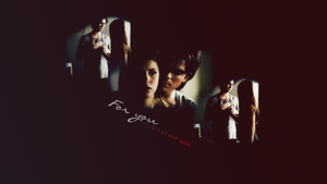 Delena Wallpaper by sourissou