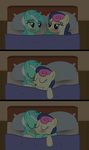Lyra X Bonbon -- Between The Sheets ||REQUEST|| by ShutterflyEQD