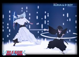 Rukia And D Roy by o-nii-san