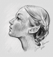 Elf sketch by 88Laura88