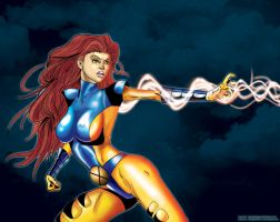 Jean Grey by TraitorLegion
