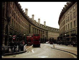 Piccadilly No. 2 by binaryzoo