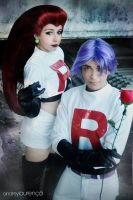 Jessie and James Team Rocket by andreylourenco