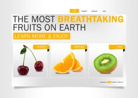 Breathtaking Fruits, Web by Real-ArtZ