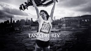 Lana Del Rey - National Anthem Wallpaper by LaunchLook