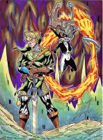 Link and Midna by Twinkie5000