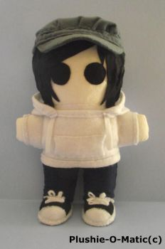 David Desrosiers Plushie by Plushie-O-Matic