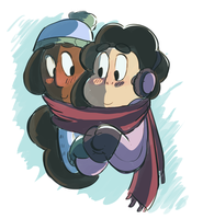 Share a scarf by Gi-zelle