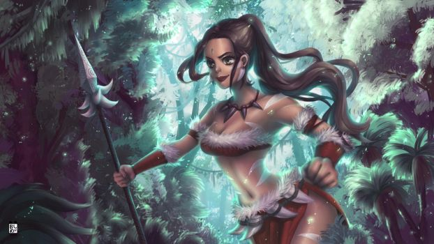 Nidalee by oshime