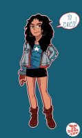 Miss America Chavez by OUC