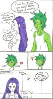 How Beast Boy Gets out of Trouble pg. 1 by MESS-Anime-Artist