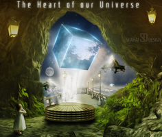 The Heart Of Our Universe by shahafyakov