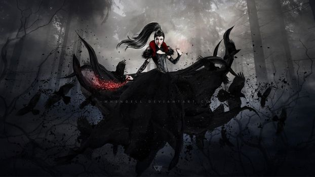 Lady of the Crows II by Whendell