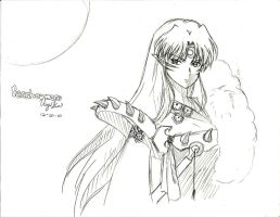 Sesshomaru by Usagi-Kai
