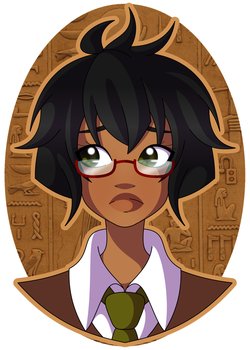 Mage of Thoth by Cazuuki