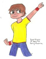 Scott Pilgrim by TheSimpsonsFanGirl