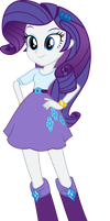Rarity Vector (Equestria Girls) by MLP-Mayhem