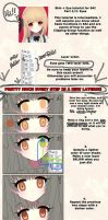 Soft anime eye coloring tutorial by longestdistance