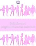 Original Character Info Pack! by spittfireart