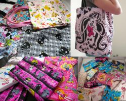 Tote bags and purses For Sale by dolphinwing