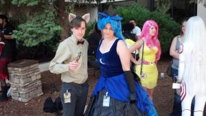 NDK 2012: Luna and Doctor Whooves by AJTalon