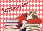Happy B-day Aki!!! by SweetTemptation666