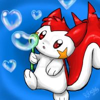 Ash the red Pachirisu by timmy-gost