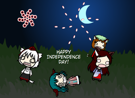 Happy Independence Day by BlazeofBravery