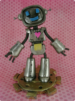 Ringo The Robot - Front by monsterkookies