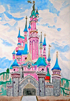 Disneyland Castle by YummyBiscuit