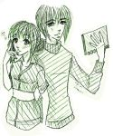 Looking for this? :: Kagura and Yuki Sketch by SirHavin
