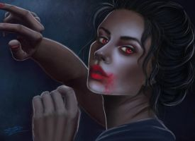 Vampire - Bella by Laurine-Tellier