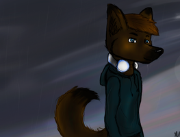 I'll just take my a trip in the rain by DarkAngelfromheaven