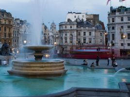 trafalgar square by fuxstar